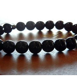 My Gigi's House Beads Bracelet - Black Onyx Beads