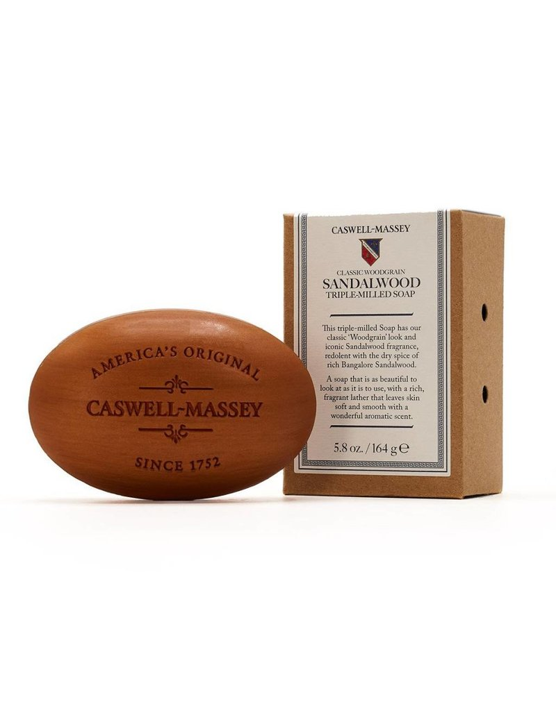 Caswell-Massey Caswell-Massey Woodgrain Sandalwood Soap Bar