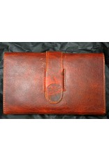 Lombardos Leather Copper Cowboy Cigar Case