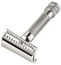 Merkur Merkur Heavy Duty Safety Razor - Slant Bar Chrome