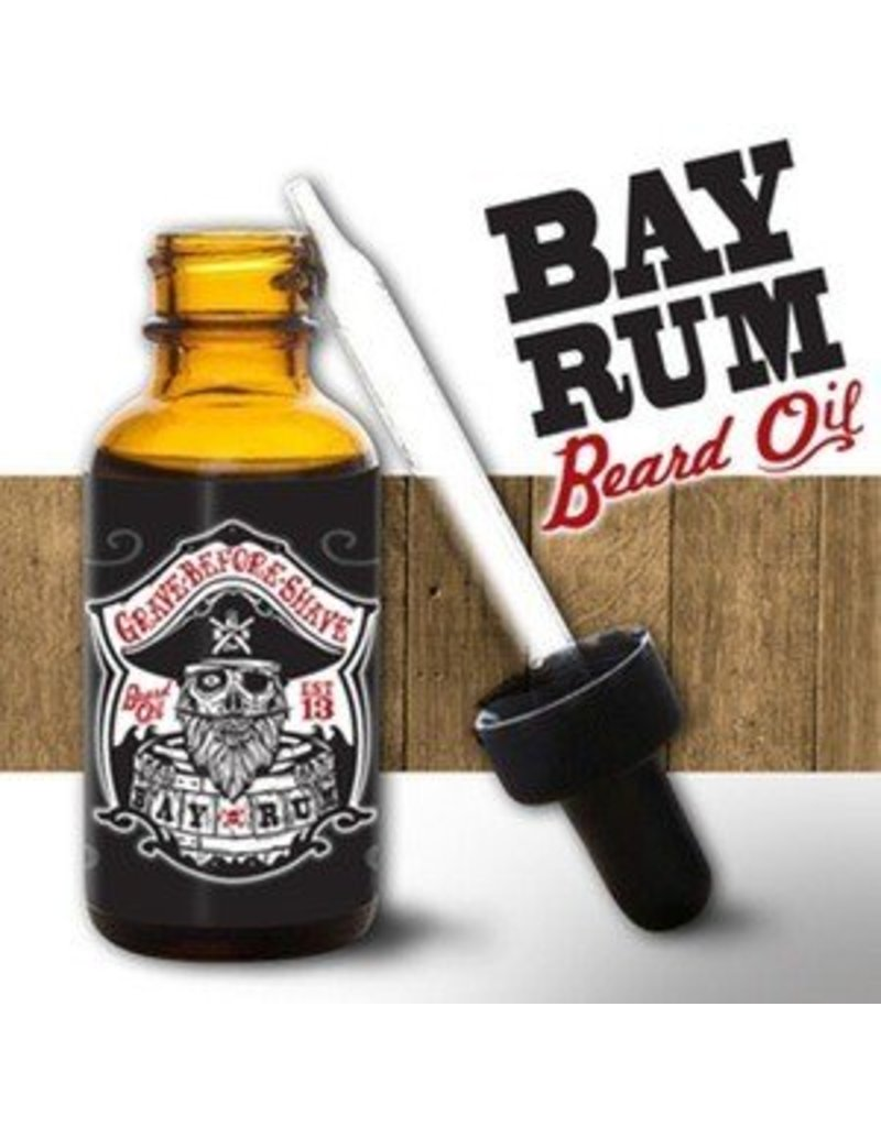 Grave Before Shave Grave Before Shave 1 oz. Beard Oil - Bay Rum