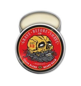 Grave Before Shave Grave Before Shave 2 oz. Beard Balm - Cigar Blend