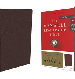 NKJV Maxwell Leadership Bible Burgundy