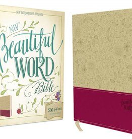 NIV BEAUTIFUL WORD BIBLE TAUPE LEATHER