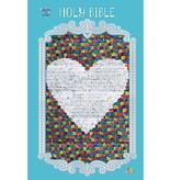 Sequin Sparkle Bible Blue