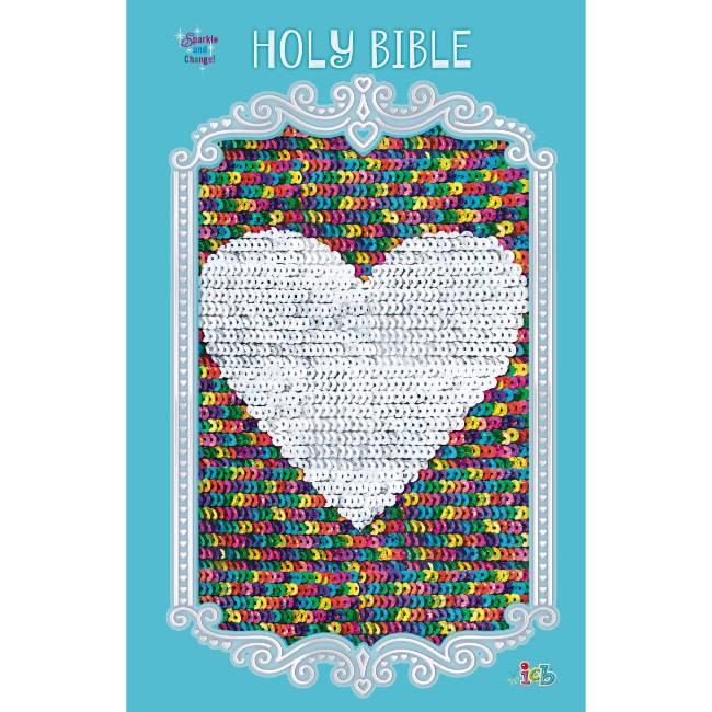 Sequin Sparkle Bible Blue