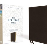 NIV Heritage Bible - Brown Leathersoft