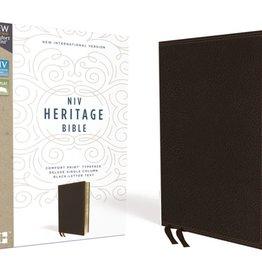 NIV Heritage Bible - Brown Leathersoft