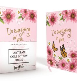 NIV Artisan Collection Bible for Girls-Pink
