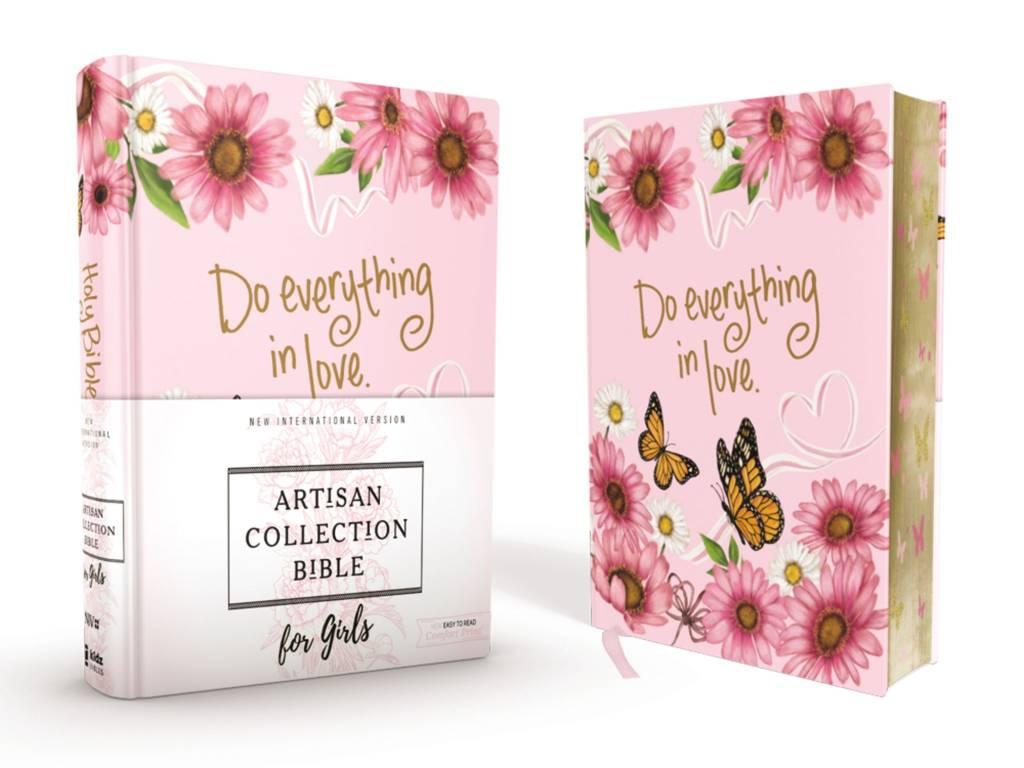 NIV Artisan Collection Bible for Girls-Pink