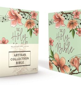NIV Artisan Collection Bible - Turquoise Floral