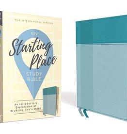 NIV Starting Place Study Bible - Aquamarine