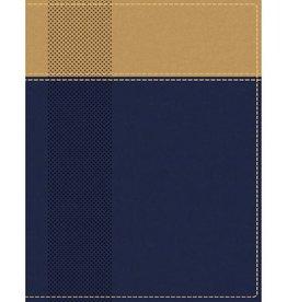 NIV Starting Place Study Bible - Navy/Tan Indexed