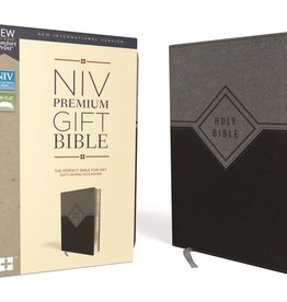 NIV Premium Gift Bible Black/Gray