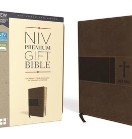 NIV Premium Gift Bible Brown