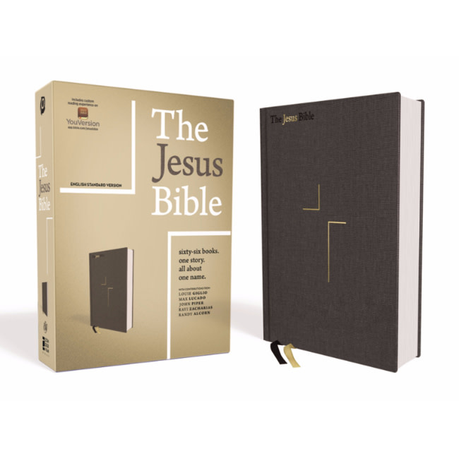 ESV The Jesus Bible - Hardcover