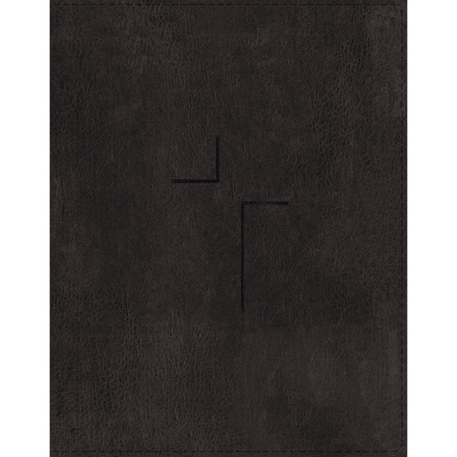 ESV The Jesus Bible Black Indexed