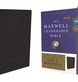 The Maxwell Leadership Bible NIV - Black Leathersoft