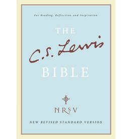 C.S. Lewis NRSV Bible - Hardcover