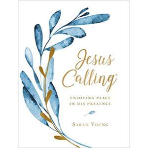 SARAH YOUNG Jesus Calling Large Print - Gold Foil