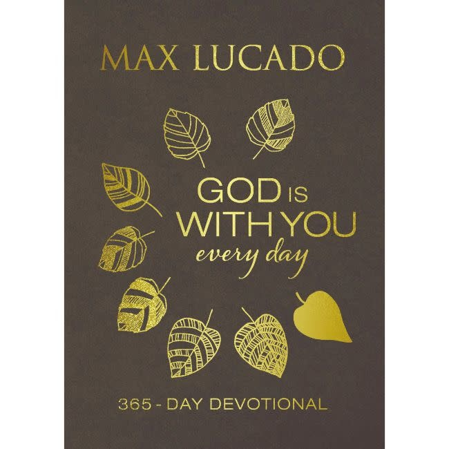 Max Lucado God Is With You Every Day Large Deluxe