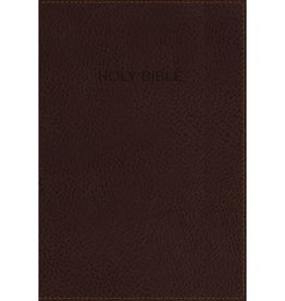 NIV Foundation Study Bible - Brown Imitation Leather Indexed