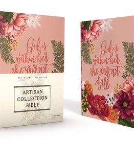 NIV Artisan Collection Bible - Pink Floral