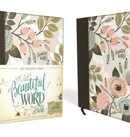 NIV Beautiful Word Bible - Multi-Colored Floral Cloth