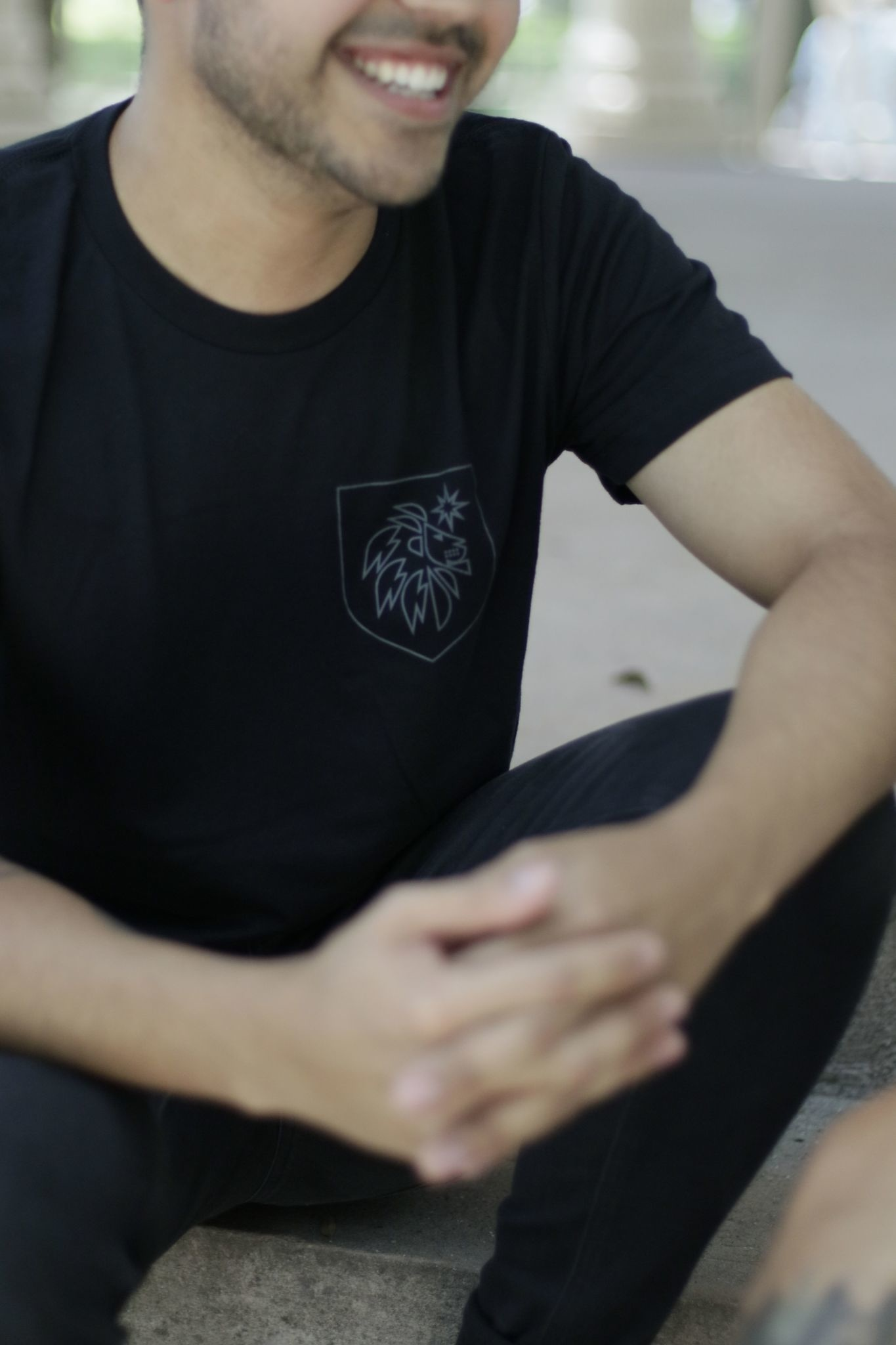 SEACOAST MUSIC BLACK POCKET LOGO