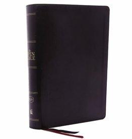 KJV The Open Bible - Black Leathersoft