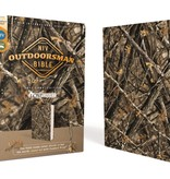 NIV, Outdoorsman Bible, Lost Camo Edition, Leathersoft, Red Letter Edition, Comfort Print