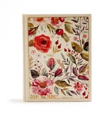 CSB Notetaking Bible - Floral Cloth Over Board