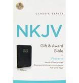 NKJV Gift & Award Bible Black Leathersoft