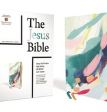 The Jesus Bible, NIV Edition, Leathersoft, Multi-color/Teal, Comfort Print