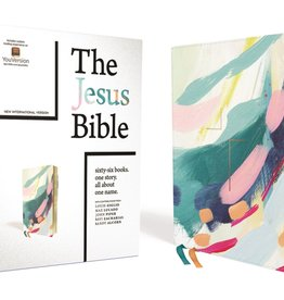 The Jesus Bible, NIV Edition, Leathersoft, Multi-color/Teal, Comfort Print