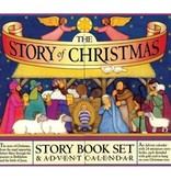The Story Of Christmas Story Book Set & Advent Calendar
