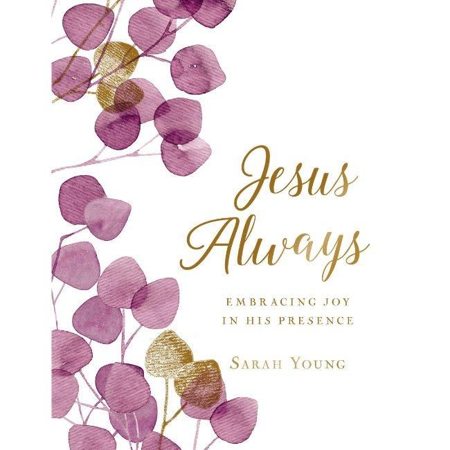 Sarah Young Jesus Always (Large Text Cloth Botanical Cover)