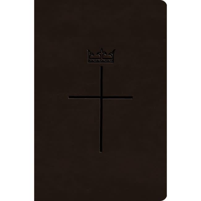 CROSSWAY ESV Value Compact Bible - Deep Brown