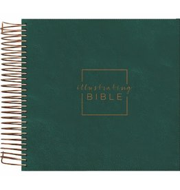 Illustrating Bible, CSB, Forest Green