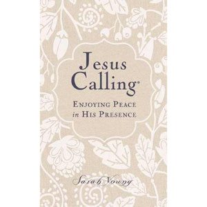 SARAH YOUNG Jesus Calling Large Print - White Canvas