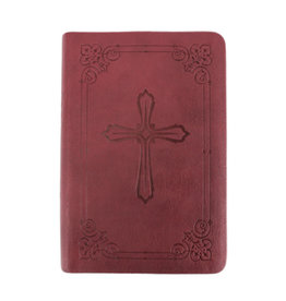 NIV Compact Holy Bible - Burgundy