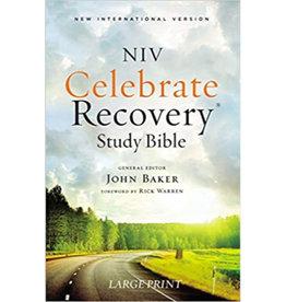 NIV Large Print Celebrate Recovery Study Bible