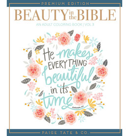 Beauty In The Bible Vol. 3 Coloring Book