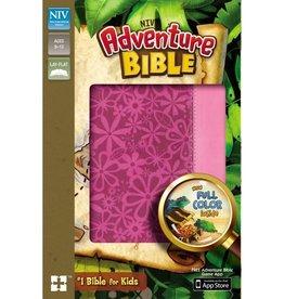 NIV Adventure Bible - Raspberry/Pink
