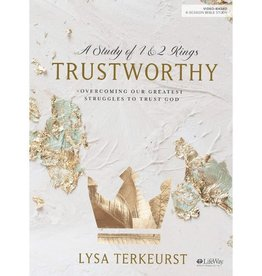 LYSA TERKEURST Trustworthy - Bible Study Book