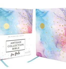 NIV Artisan Collection Bible for Girls - Multi Color
