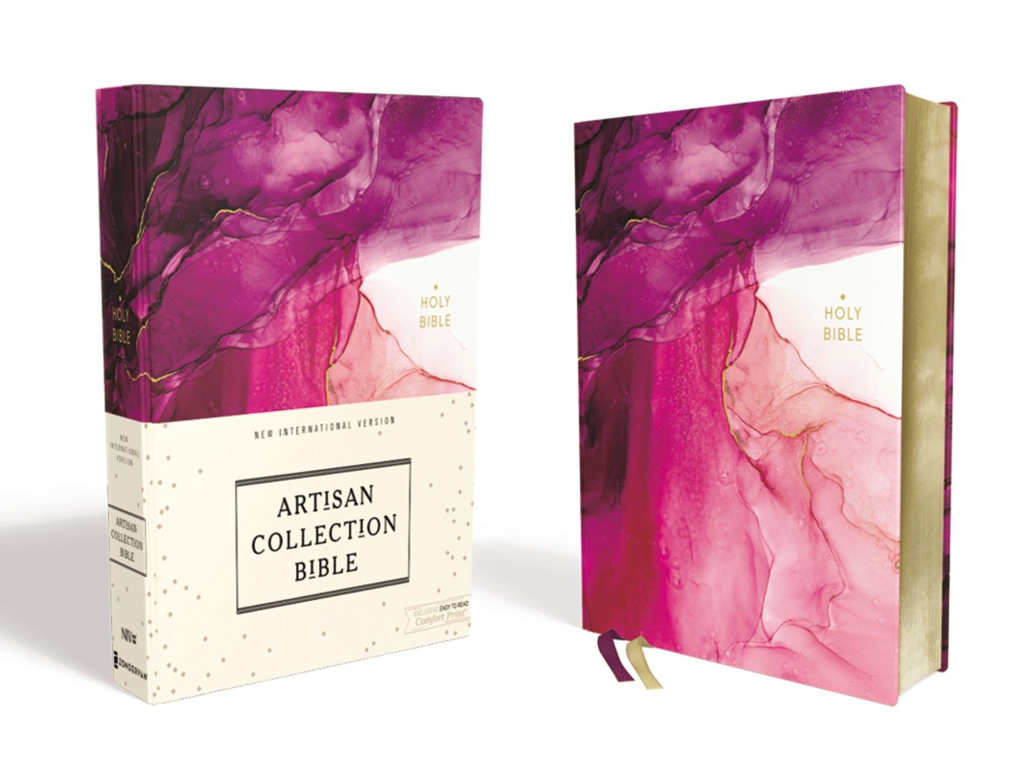 NIV Artisan Collection Bible - Pink