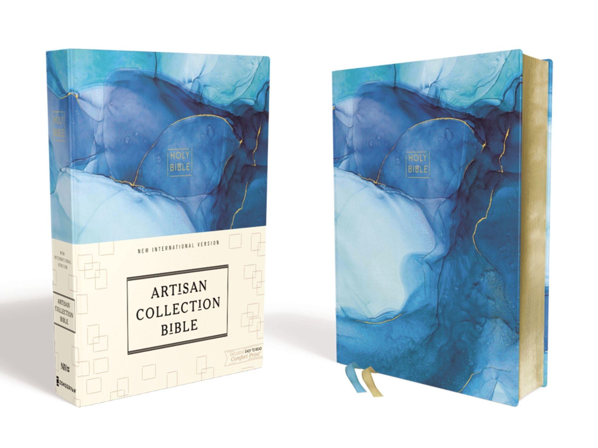 NIV Artisan Collection Bible - Blue