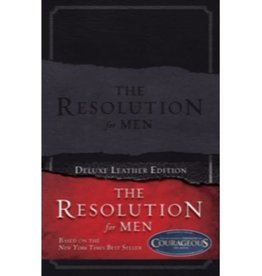 STEPHEN KENDRICK The Resolution For Men Leather Edition