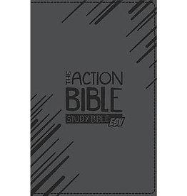 The ESV Action Study Bible - Premium Black Leather Edition